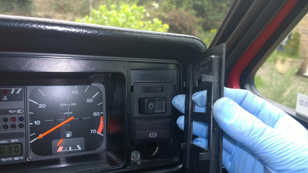 How to remove instrument cluster and replace illumination