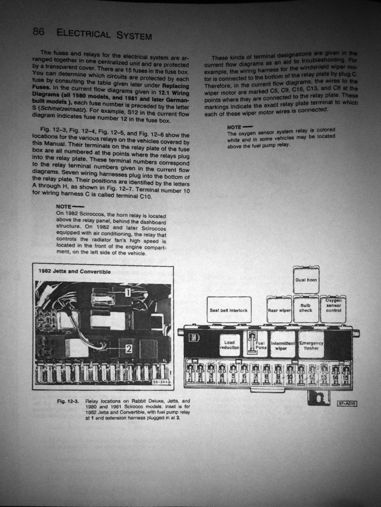 View Topic Fuses Fusebox And Relays For Series 1 As Req Mcdonut Relay Holder Fuse Box Terminals