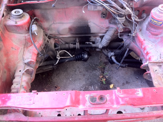 Parts Of A Car Start To Go Rusty