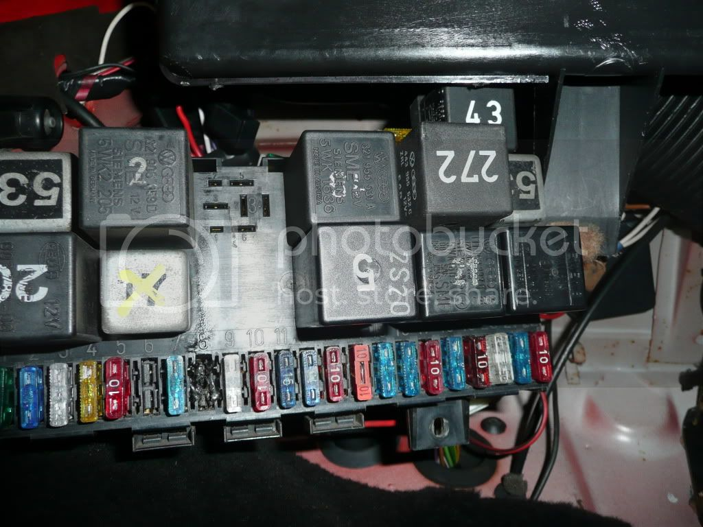 Mk1 Golf Fuse Box Problems : View topic a host of problems blower binnacle fuse
