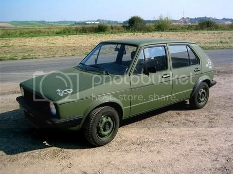 hot sales e9e0a 012f0 View topic: Military Golf with PIC – The Mk1 Golf Owners Club