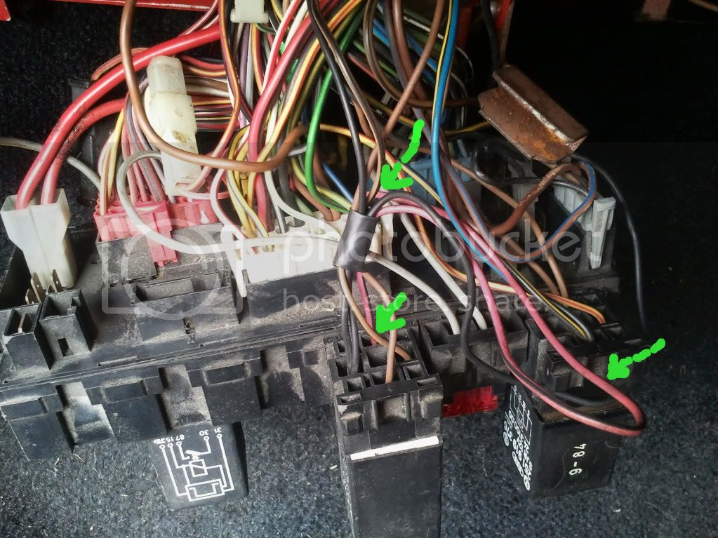 Mk1 Golf Fuse Box Wiring Diagram : View topic dx to abf conversion wiring the mk golf