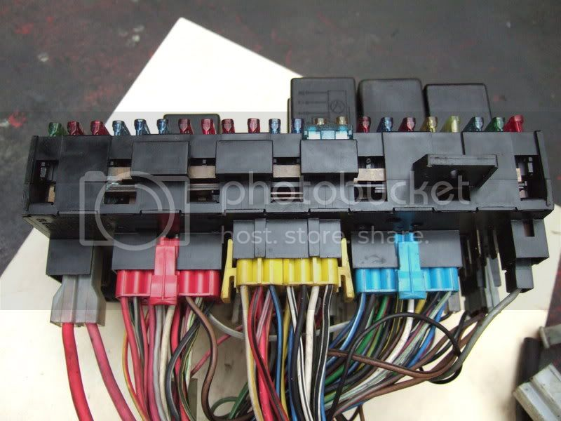 Mk1 Golf Fuse Box Wiring Diagram : View topic fuze box wiring layout relay locations