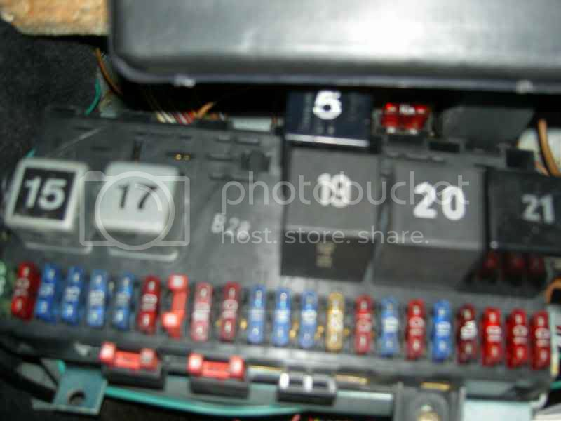 Mk1 Golf Fuse Box Problems : View topic campaign fuse box relays the mk golf owners