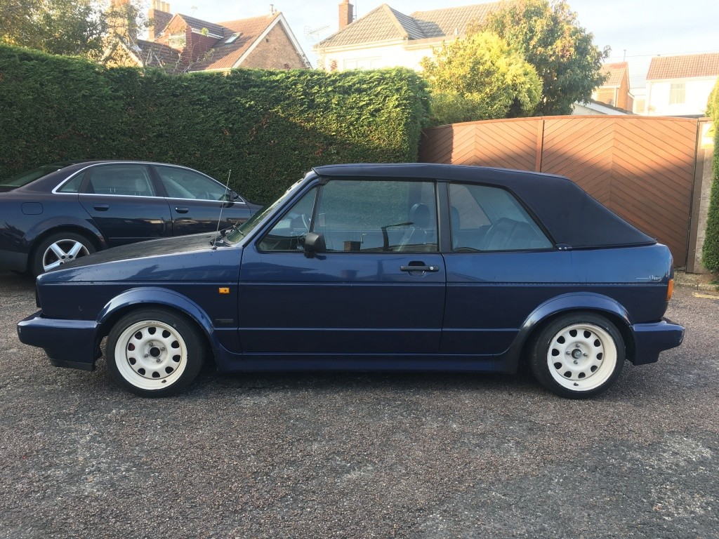 View Topic Mk1 Golf Cabriolet 1 8t For Sale 3000 The Mk1 Golf