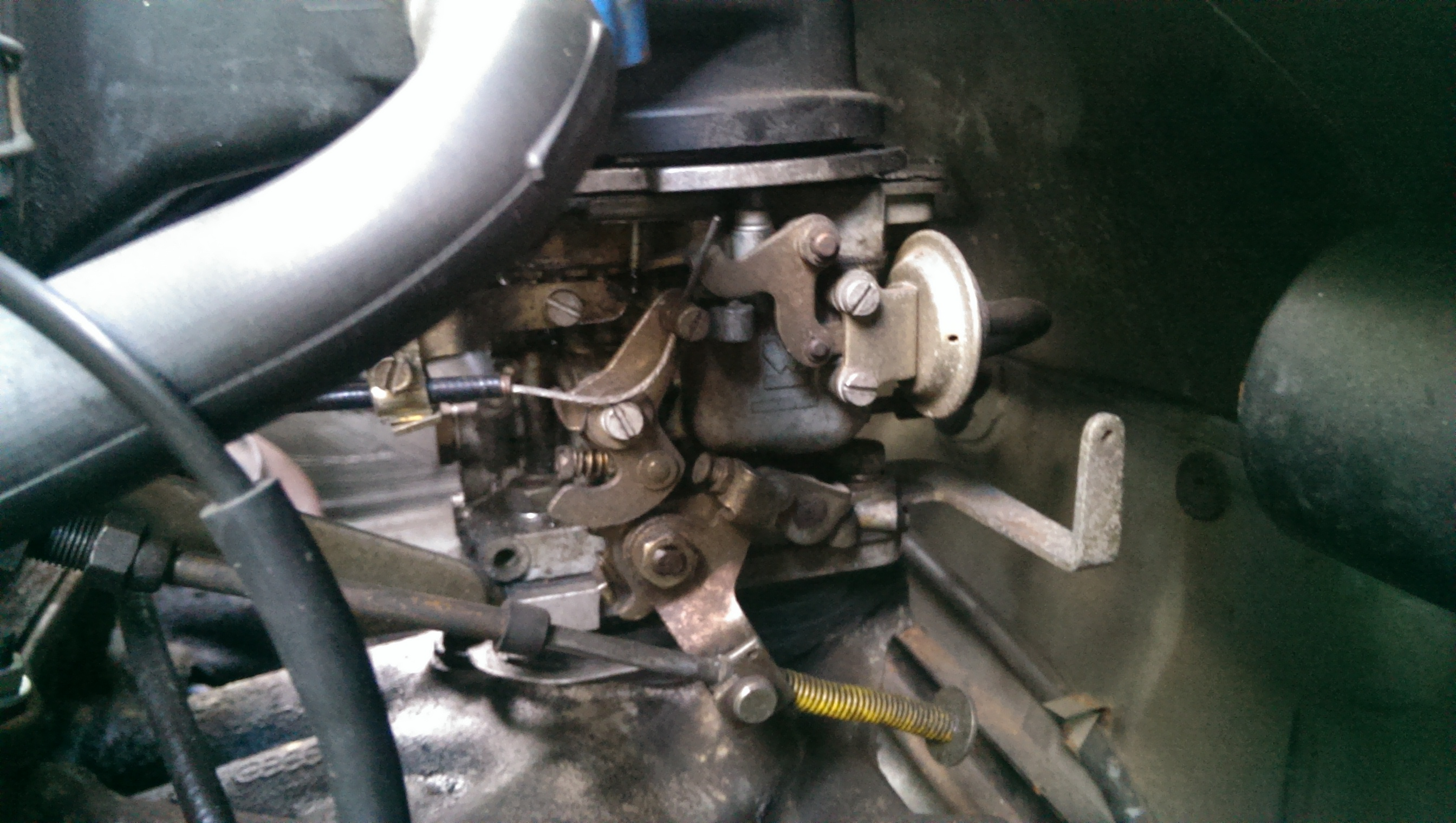 Here are a couple of pics of my carb (nb: it's an auto so may differ from  manual ones.