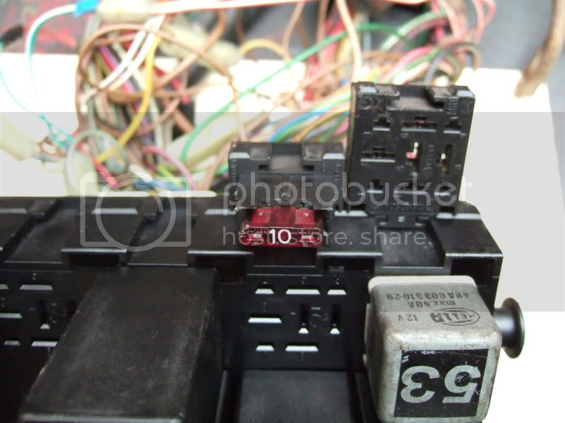 Mk2 Golf Fuse Box Location : View topic fuze box wiring layout relay locations