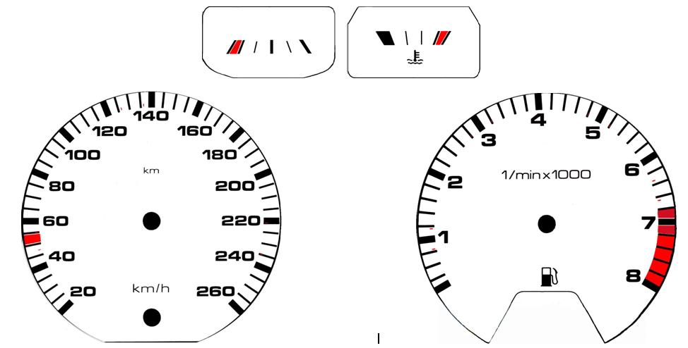 view topic  dial gauge change    u2013 the mk1 golf owners club