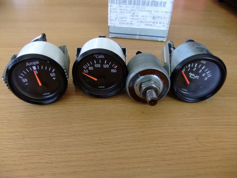 View topic: VDO Gauges - Oil Pressure + Sender, Oil