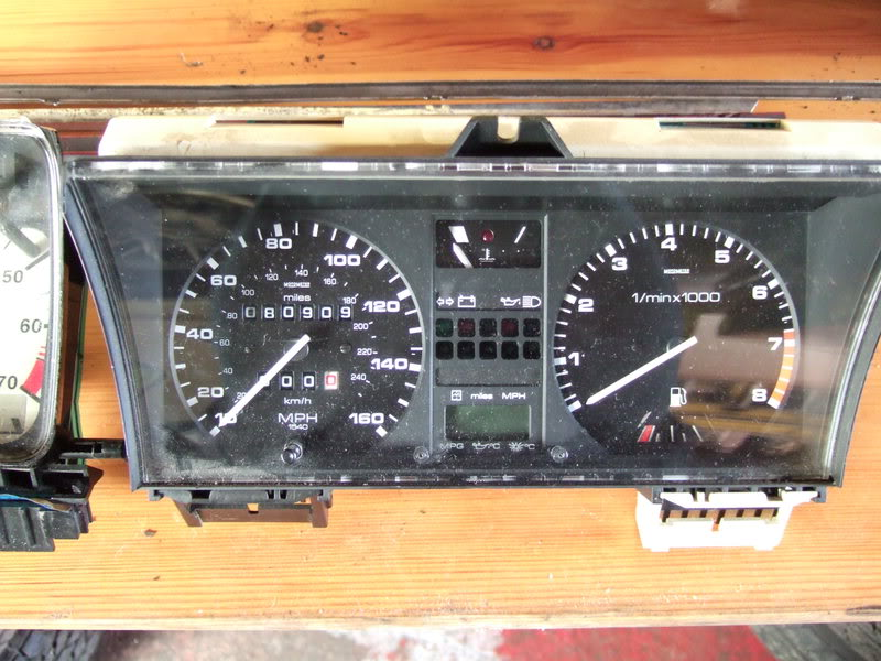 View topic: MK2 clocks in a MK1 my simple 'HOW TO' – The Mk1 Golf