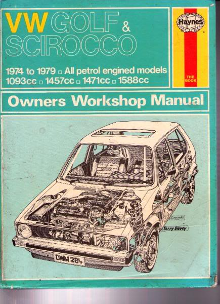 view topic workshop manuals for the vw golf mk1 all models a guide rh vwgolfmk1 org uk Bumpers 1997 Volkswagen Cabrio Convertible 1997 Volkswagen Cabrio Convertible Owners Manual