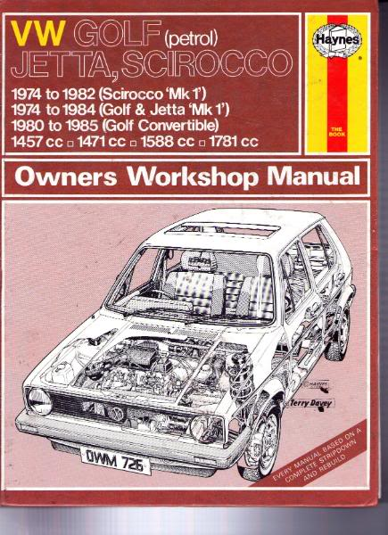 view topic workshop manuals for the vw golf mk1 all models a guide rh vwgolfmk1 org uk vw golf mk1 cabriolet & scirocco service manual vw golf mk1 service and repair manual
